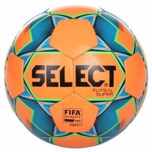 FB Futsal Super futsalová lopta oranžová-modrá veľkosť plopty č. 4