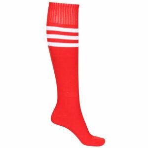 United futbalové štulpne s ponožkou červená veľkosť oblečenia