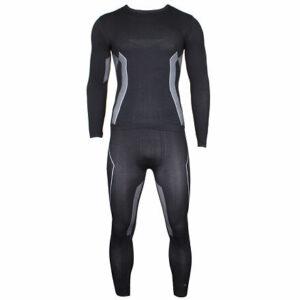 X-action MEN pánsky funkčný set čierna veľkosť oblečenia S-M