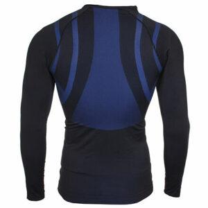 Longsleeve MEN 1.0 pánske funkčné tričko čierna veľkosť oblečenia