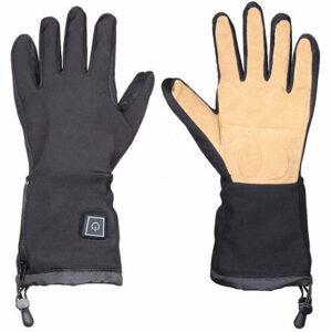 Thermo Work vyhrievané rukavice čierna veľkosť oblečenia
