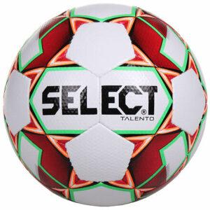 FB Talento futbalová lopta biela-červená veľkosť plopty č. 5