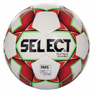 FB Futsal Samba futsalová lopta biela-červená veľkosť plopty č. 4