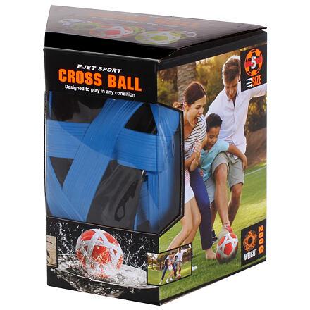 Cross Ball gumová lopta čierna-modrá varianta 35700