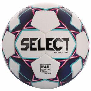 FB Tempo TB 2019 futbalová lopta biela-fialová veľkosť plopty č. 5