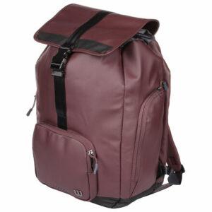 Women's Fold Over Backpack 2019 športová taška bordová varianta 35881