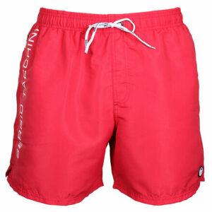 18806-AS pánske plavecké šortky červená veľkosť oblečenia