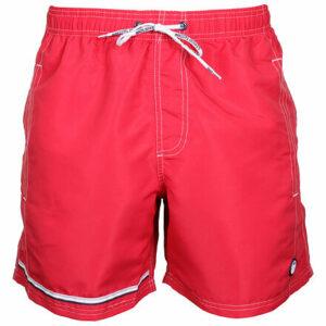 18800-AS pánske plavecké šortky červená veľkosť oblečenia