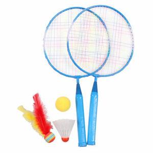 Training Set JR badmintonová sada modrá varianta 37162