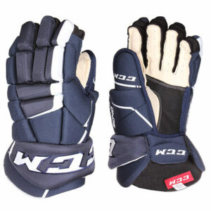 Tacks 9040 JR hokejové rukavice modrá dĺžka
