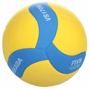 VS170W volejbalová lopta modrá-žltá varianta 37429