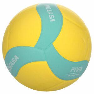 VS170W volejbalová lopta zelená-žltá varianta 37430