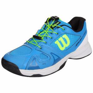 Rush Pro JR QL 2019 juniorská tenisová obuv modrá veľkosť (obuv) UK 5