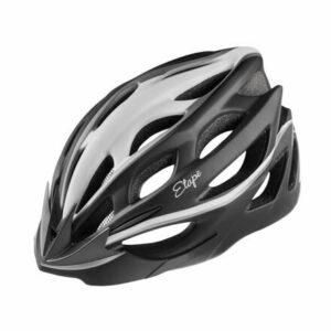 Vesper cyklistická prilba čierna-biela veľkosť oblečenia