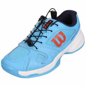 Rush Pro JR QL Carpet juniorská tenisová obuv modrá sv. veľkosť (obuv) UK
