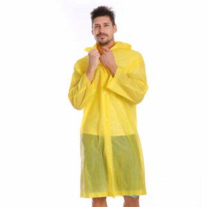 Classic pršiplášť žltá veľkosť oblečenia