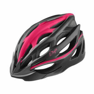 Vesper cyklistická prilba čierna-ružová veľkosť oblečenia