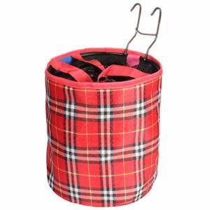 Basket košík na riadidlá červená varianta 39775
