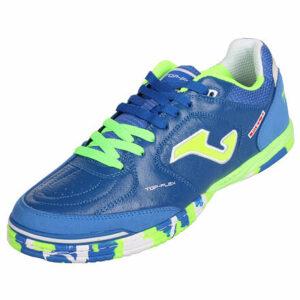 Top Flex 2004 sálová obuv modrá-zelená veľkosť (obuv) EU