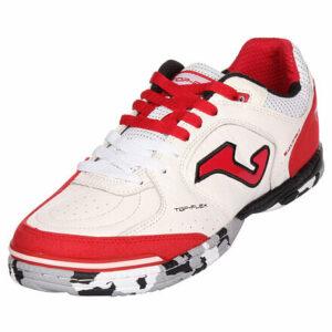 Top Flex 2022 sálová obuv biela-červená veľkosť (obuv) EU