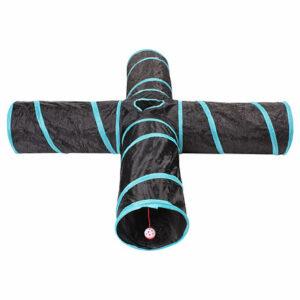 Four-way agility tunel čierna-modrá varianta 40155
