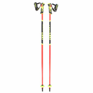 WCR Lite SL 3D juniorské zjazdové palice červená-čierna dĺžka