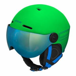 Speedy PRO detská lyžiarska prilba zelená matná obvod 55-58