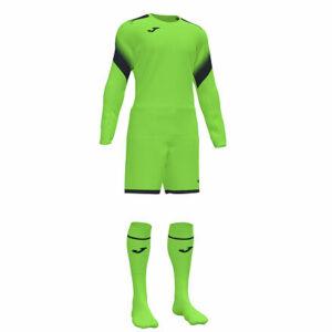 Zamora V brankársky komplet fluo zelená veľkosť oblečenia L