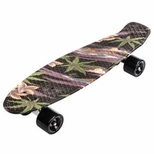Flip Multi plastový skateboard čierna varianta 40578