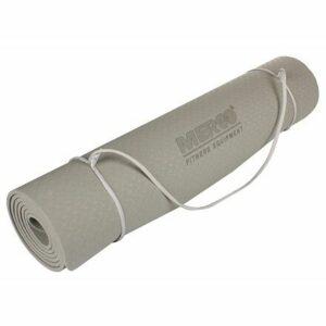 Yoga TPE 6 Mat podložka na cvičenie šedý varianta 40612