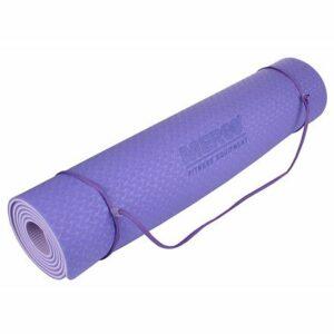 Yoga TPE 6 Double Mat podložka na cvičenie fialová-fialová varianta 40617