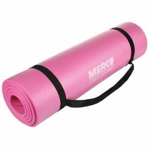 Yoga NBR 10 Mat podložka na cvičenie ružová varianta 40622