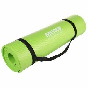 Yoga NBR 10 Mat podložka na cvičenie limetková varianta 40627