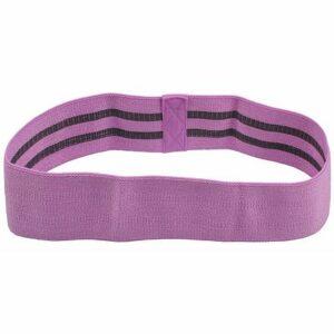 Yoga Hip Band odporový pás fialová varianta 40675