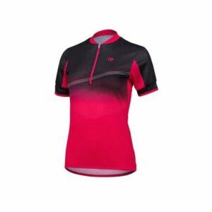 LIV cyklistický dres ružová-čierna veľkosť oblečenia L
