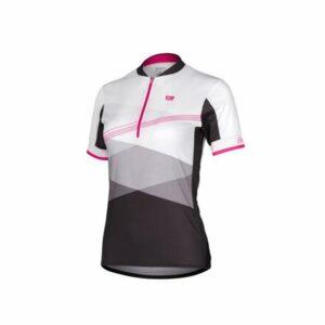 LIV cyklistický dres biela-ružová veľkosť oblečenia M