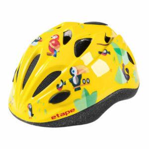 Pony detská cyklistická prilba žltá veľkosť oblečenia