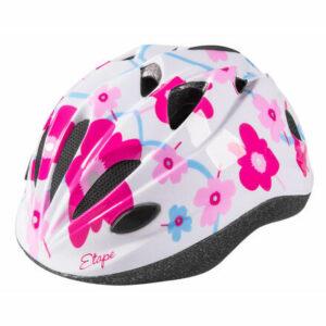 Pony detská cyklistická prilba biela-ružová veľkosť oblečenia