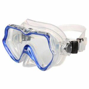Capri Junior detské potápačské okuliare farba modrá