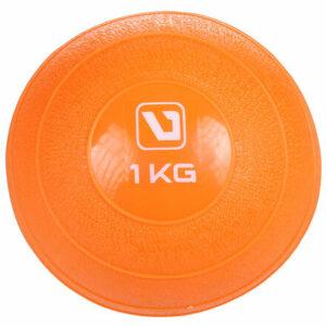 Weight ball lopta na cvičenie oranžová hmotnosť 1 kg