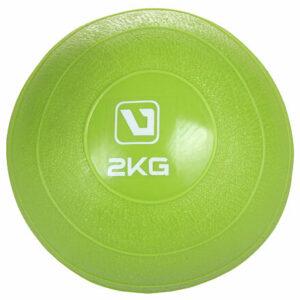 Weight ball lopta na cvičenie zelená hmotnosť 2 kg