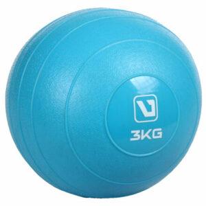 Weight ball lopta na cvičenie modrá hmotnosť 3 kg