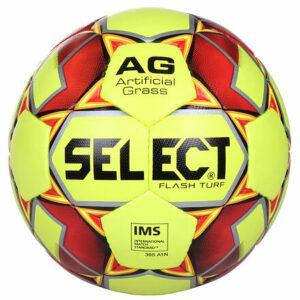 FB Flash Turf futbalová lopta žltá-červená veľkosť plopty č.
