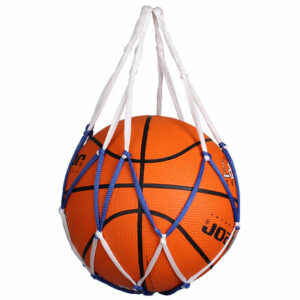 Single Ball Bag sieť na loptu modro-biela varianta 36992
