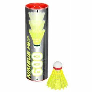 Nimbus 600 badmintonové loptičky červená balenie tuba 6 ks