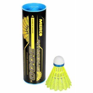 Nimbus 3000 badmintonové loptičky modrá balenie tuba 6 ks