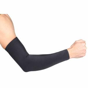 Premium Arm kompresné návleky na ruky čierna veľkosť oblečenia
