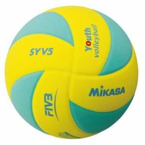 SYV5 volejbalová lopta zelená veľkosť plopty č. 5