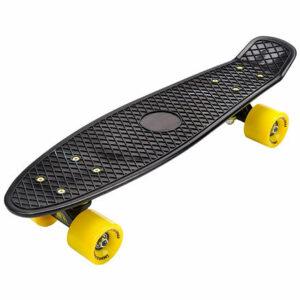 Flip plastový skateboard čierna varianta 40419